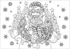 Printable christmas coloring pages for kids and their parents is a great idea to spend this special time with close relatives in a pleasant way. Christmas Coloring Pages For Adults Detailed 101 Coloring