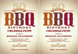 Barbeque Invitation Birthday Barbeque Invitations