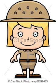 zookeeper clipart. Fine Clipart Cartoon Smiling Zookeeper Girl  Csp28248433 To Clipart K