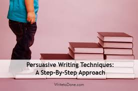 a step by step approach to persuasive writing share20