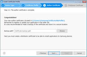 Certificates To Make Creating Certificates Samsung Developers