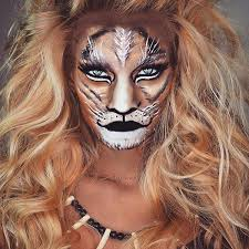 tiger makeup idea for 2016