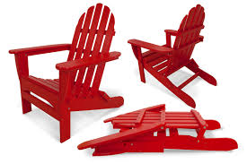 polywood folding adirondack chairs. Exellent Adirondack Enjoy Comfort And Relaxation In The Deep Contoured Seat Of Polywoodu0027s  Classic Folding Adirondack Chair 13 Frame Colors To Choose From Plus  Intended Polywood Folding Chairs L