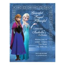 elsa birthday invitations frozen birthday invitations announcements zazzle