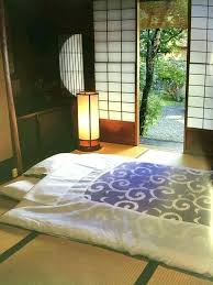 japanese style bedroom furniture. Bedroom Futon Style Japan Bedding On Tatami Mat Floor With Open Screen Furniture Japanese