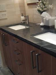 slate countertops for your kitchen design elegant slate bathroom countertops with double sink and stainless