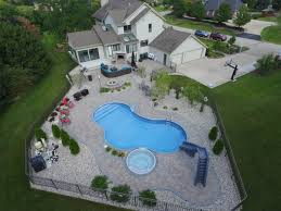 mansion with indoor pool with diving board. Freeform With Spillover Spa And Slide Mansion Indoor Pool Diving Board