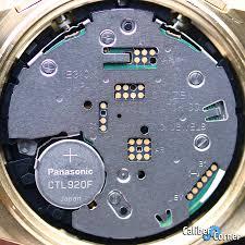 Citizen Watch Battery Replacement Chart Citizen Caliber E310 Watch Movement Caliber Corner