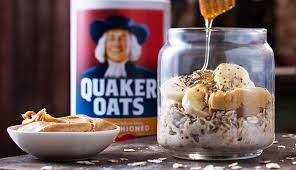 peanut er banana overnight oats