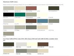 Mitten Siding Color Chart Kaycan Vinyl Siding Color Chart Best Picture Of Chart