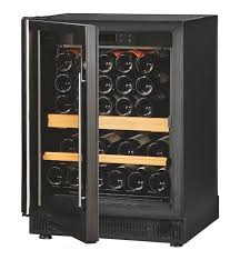 eurocave compact wine cabinet v059 glass door shelving configuration right handle