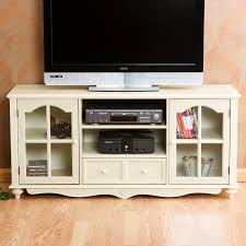white tv entertainment center. Coventry Large TV Console - Antique White Tv Entertainment Center