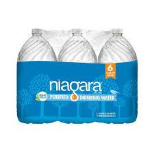 Purifying Drinking Water Niagara 1 Gal Purified Drinking Water 6 Pack Ndw1gp6pdrch The