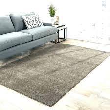 solid gray rug area handmade dark 8x10 gr
