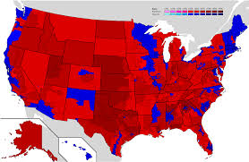 presidential election map united states presidential