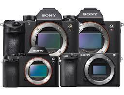 Sony Nex Comparison Chart Sony Mirrorless Camera Guide Sonyalphalab
