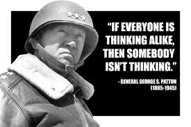 General Patton Quotes Fascinating Somebody Isn't Thinking SELECTiONCOM