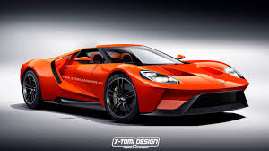2017 Ford GT Rendering Frenzy Leads to Gulf Oil Livery and a ...