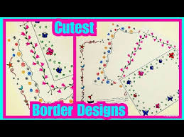 Videos Matching 4 Border Designs Border Designs For Project