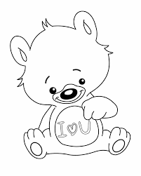 Small Picture I love you coloring pages teddy bear ColoringStar