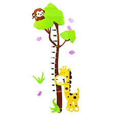 Amazon Com Pigeon Fleet Acrylic Kids Wall Decal 3d Giraffe