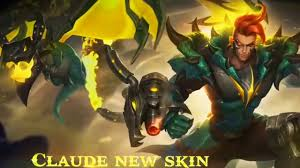 claude the mecha dragon skin Mobile ...