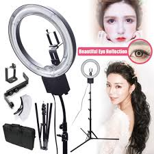 diva ring light before and after. ng 40c 40w 5400k studio diva ring light with tripod stand + camera phone holder kit for photographic make up selfie video photo -in underwear from mother before and after r
