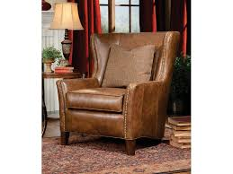 Wing Chairs For Living Room Smith Brothers Living Room Wing Chair 825 30 Whitley Furniture