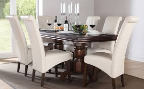 dark wood dining room chairs. Fantastic Dark Wood Dining Tables And Chairs Table For 6 Rutland Solid Chunky Oak Furniture Small Room