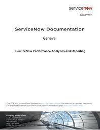 Servicenow Custom Charts Servicenow Performance Analytics And Reporting Manualzz Com