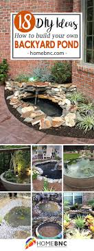 Diy Pond 18 Best Diy Backyard Pond Ideas And Designs For 2017