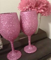 glitter wine gl