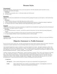 Objective On Resumes Resume For Study Writing The Personal College