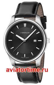 Швейцарские <b>мужские</b> наручные <b>часы WENGER 01.1441.101</b> ...