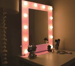 Image Makeup Pink Hollywood Mirror With Led Lights Want It Pink Pink Hollywood Mirror With Led Lights Want It Pink