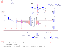 circuit diagram remote control ceiling fan the wiring diagram no hum fan controller kit wiring diagram