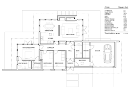 one story luxury home modern house floor plans