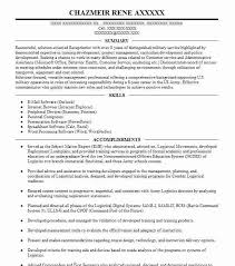 92a Resume Automated Logistics Specialist 92a Resume Example A
