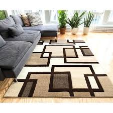 brown and beige area rugs well woven modern boxes lines ivory rug giannini brown and beige area rugs