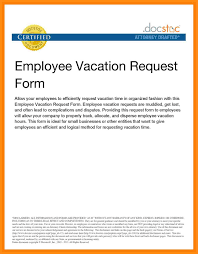 Brilliant Ideas Of 11 Sample Of Vacation Letter For Your Example