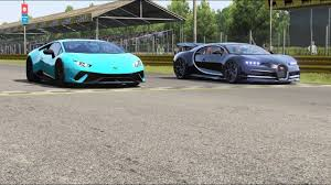 The development of the bugatti veyron was one of the greatest technological challenges ever known in the automotive industry. Lamborghini Huracan Performante Vs Bugatti Chiron At Monza Full Course Youtube