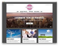 Wordpress Website Templates Delectable Free Wordpress Website Templates 28 Lovely Free Responsive Pictures