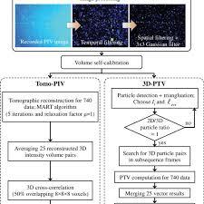 Ptv Org Chart Flow Chart Of Full 3d 3c Velocity Measurement Techniques