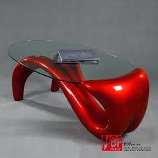north s mermaid living room coffee table glass minimalist small apartment oval in tables from furniture on red uk
