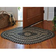 pkd 378 436 kendrick diamond braided rug 36x56