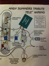 andy summers style build telecaster guitar forum they also informed me that the circuit used in the andy summers model is the same as used in the fender eric clapton signature model
