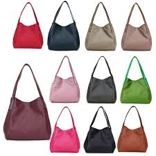 details about women designer soft leather shoulder bags large capacity top handle