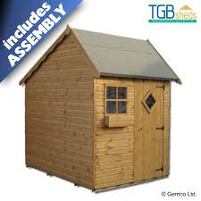 tgb escape playhouse shed assembled