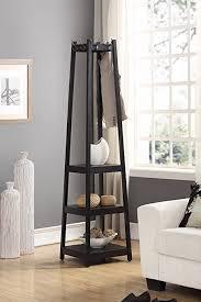 Coat Rack Furniture Delectable Amazon Roundhill Furniture Vassen Coat Rack With 32Tier Storage