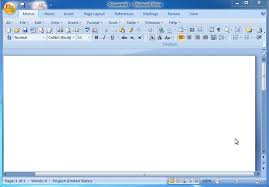 Demo Of Classic Menu For Word 2007